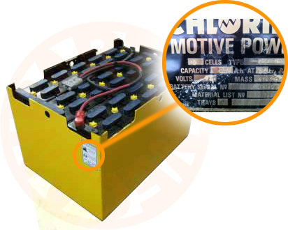 Forklift/Multi-cell Battery Identification