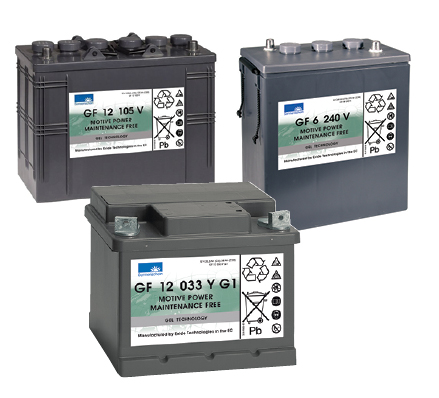 Gel Monobloc Batteries